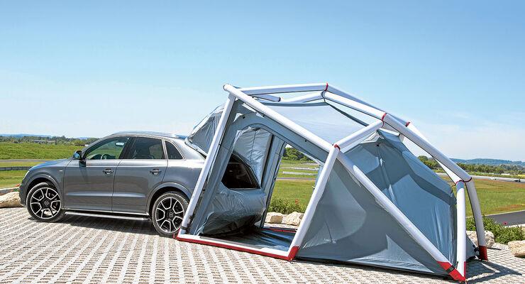 Audi-Zelt zum Aufblasen