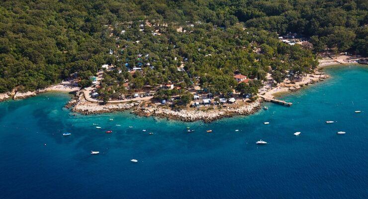 Auf der CMT erhielt Glavotok, der auf der Insel Krk liegt, als erster kroatischer Campingplatz die Ecocamping-Auszeichnung.