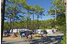 Campingplatz des Monats, CAR 05/2012 - Les Grands Pins, Zeltplatz