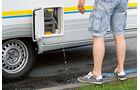 Caravan: Gewicht, Toilettenspülwasser