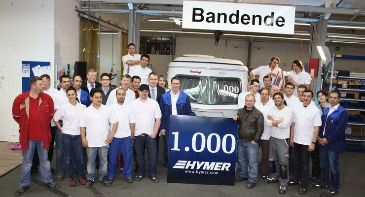 Der Eriba-Touring gilt als Grundstock für den Erfolg der Marke Hymer. Er wurde 1957 zum ersten Mal gebaut