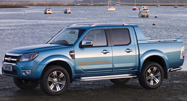 Deutschland-Premiere Ford Ranger Caravan Salon Caravan