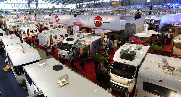 Die Caravaning-Fachhändler in Deutschland konnten 2012 einen verbesserten Absatz verzeichnen.
