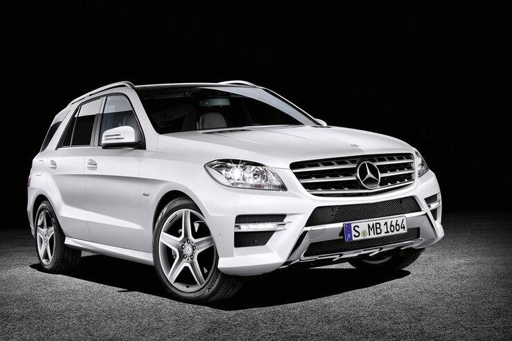 Die neue Mercedes M-Klasse