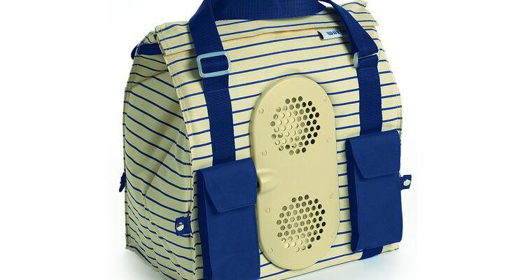 Die neue Waeco-Kühltasche Cool Fun S 28 DC soll sich für den sicheren Transport auch bei hohen Außentemperaturen eignen.