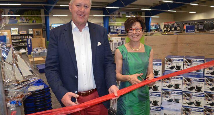 Eröffnung Freizeitwelt Nagel in Ansbach