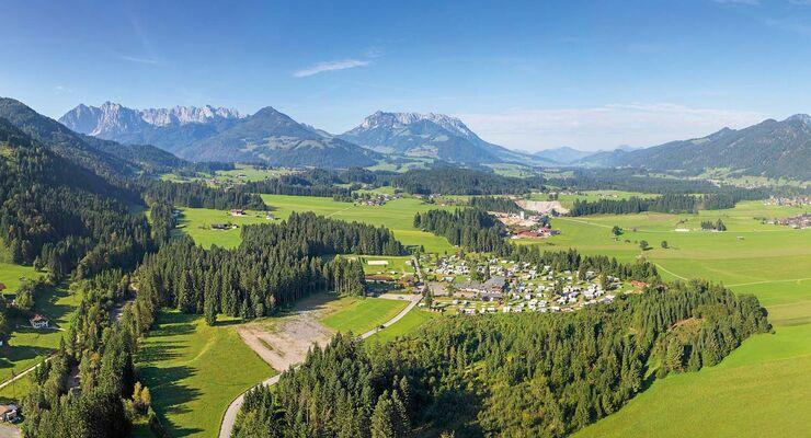 Euro-Camp Wilder Kaiser in Österreich