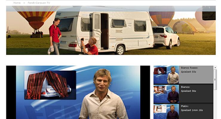 Fendt, internet, caravan, wohnwagen