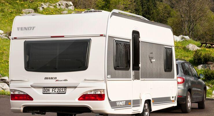 Fendt stellt auf der Urlaubsmesse CMT 2012 in Stuttgart den Bianco Selection 465 SFB vor