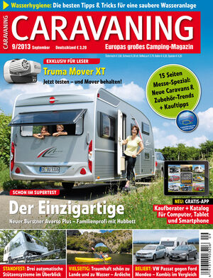 Heft Caravaning Ausgabe 08-2013