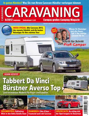 Heft Caravaning Ausgabe 09-2011