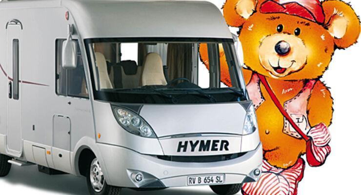 Hymer,Reisemobil, wohnmobil, caravan, wohnwagen