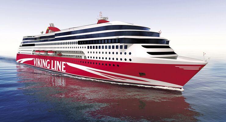 Jungfernfahrt der schadstoff- und lärmreduzierten Großfähre MS Viking Grace findet im kommenden Januar statt.