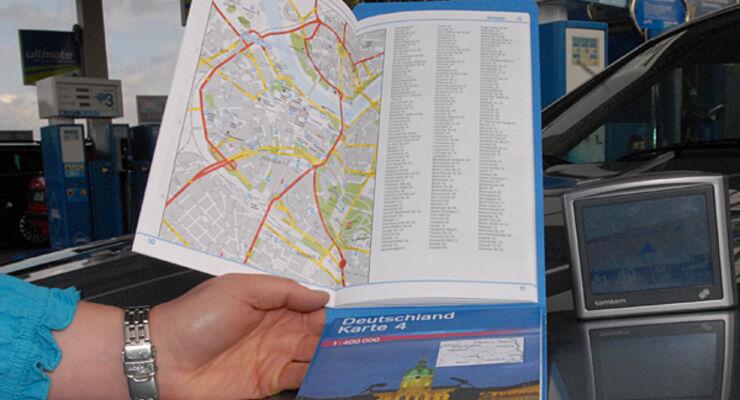 Karte Atlas Wohnmobil Caravan Wohnanhänger Wohnmobil