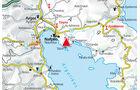 Karte Region Nafplion