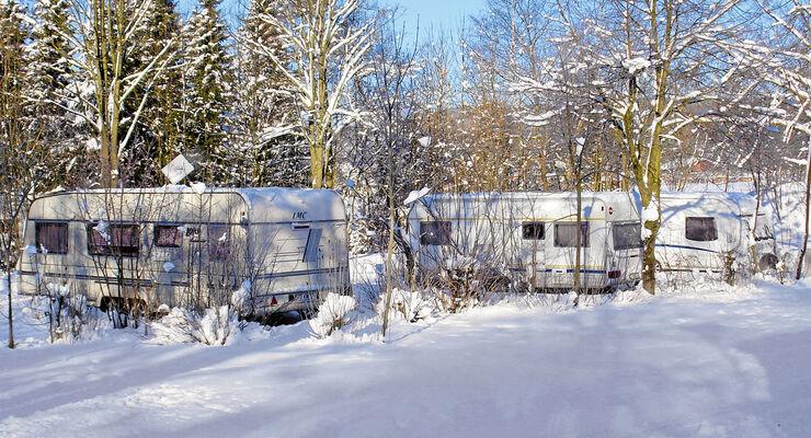 Knaus-Camping Walkenried geeignet für Wintercamping
