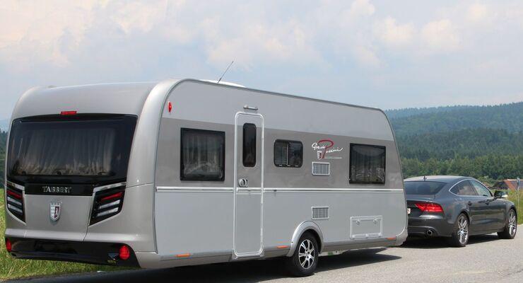 Knaus Tabbert präsentiert auf dem Caravan Salon den Tabbert Grande Puccini als neues Flaggschiff bei den Premium-Caravans.