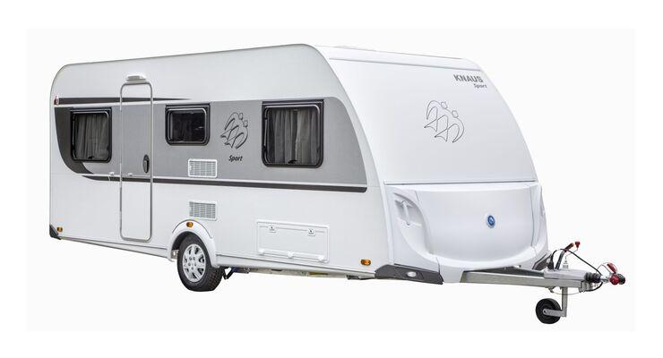 Knaus hat für die Reisesaison 2014 seine Caravan-Einsteigerbaureihe Sport mit einem neuen Gaskasten aufgewertet.