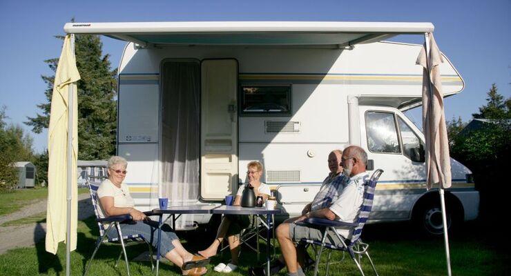 Mehr als 200 dänische Campingplätze halten jetzt QuickStop-Stellplätze für Wohnmobile bereit