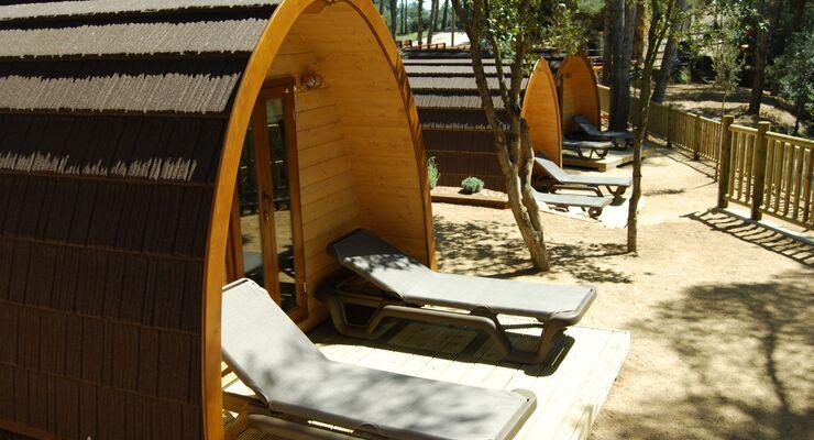 Mehr als 80 spanische Campingplätze setzen den ganzen Sommer über ein Zeichen gegen die grassierende Wirtschaftskrise im Land.
