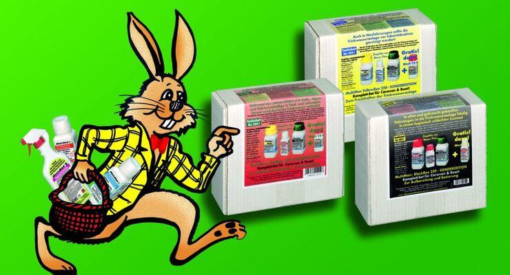 MultiMan legt ein ganz besonderes Angebot ins Osternest: rund 30 Prozent Rabatt auf jede MultiBox