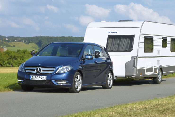 mercedes benz b 200 cdi als zugwagen im test der kann mehr caravaning. Black Bedroom Furniture Sets. Home Design Ideas