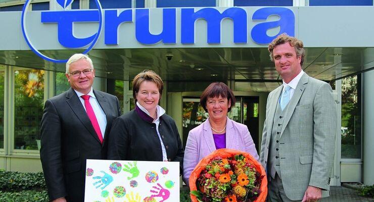 Truma-Inhaberin Renate Schimmer-Wottrich hat eine Stiftung gegründet, um gemeinnützige Projekte zu fördern
