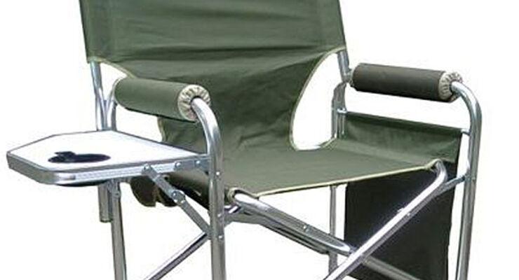 USA Hammacher-Schlemmer Kohlefaser Heizung Camping-Stuhl Wohnmobil Reisemobil Caravan Wohnanhänger