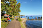 Uferweg am Bodensee.