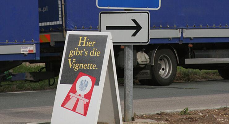 Wohnwagen Vignette Tschechien