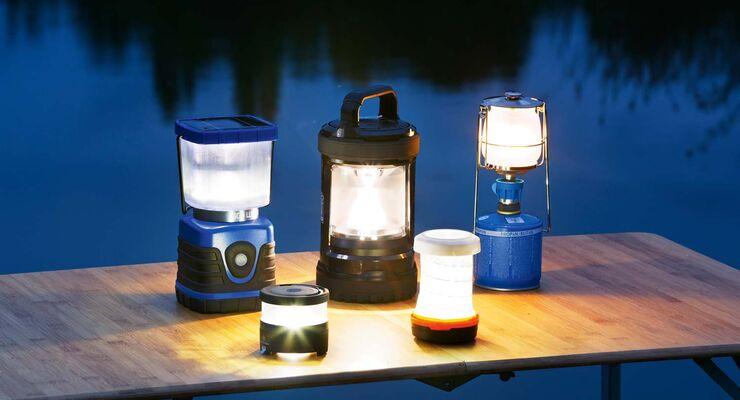 Zubehör Test Campinglampen