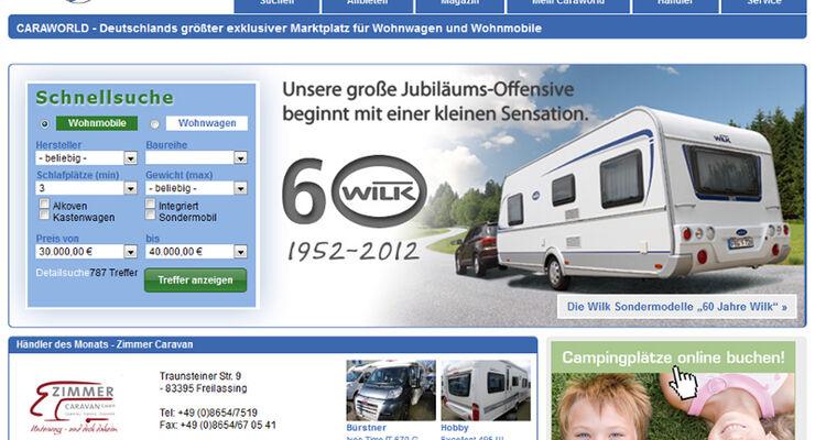 caraworld screenshot website