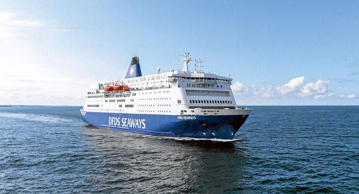 DFDS Seaways betreibt acht Passagierrouten.