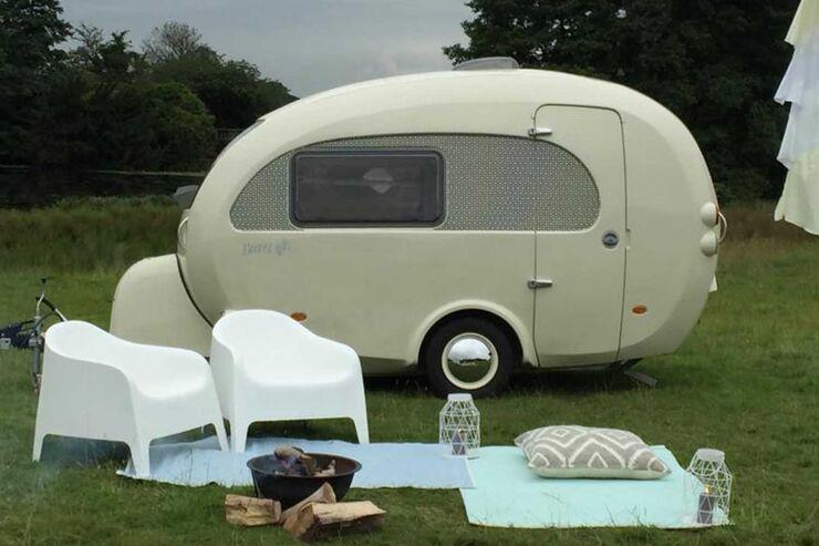 barefoot caravan eif rmiger monocoque wohnwagen im retro stil caravaning. Black Bedroom Furniture Sets. Home Design Ideas