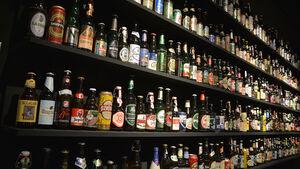 Bierflaschen aus aller Welt