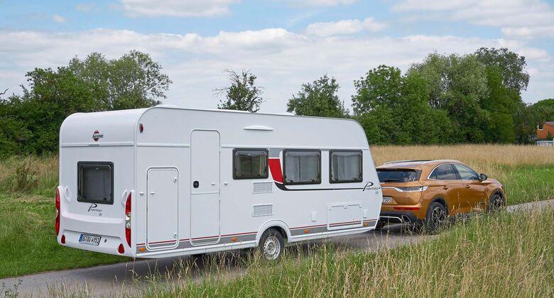 Wohnwagen Mit Etagenbett Und Doppelbett : Wohnwagen im supertest caravaning