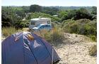 Camping des Dunes.