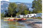 Campingplatz L'Île Aux Cygnes direkt am Ufer des Lac du Bourget