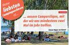 Campingplatz-Nachbar