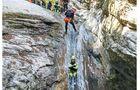 Canyoning beim Gardasee