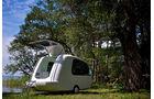 Caravan Salon 2012, Camping auf dem Baggersee