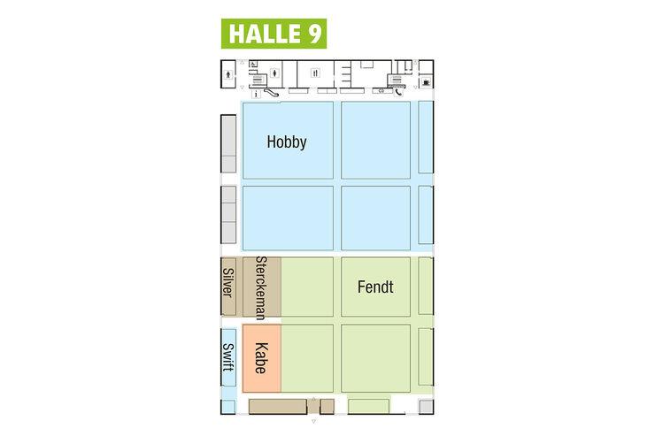 caravan salon messeplan infos und neuheiten in halle 9 seite 8 caravaning. Black Bedroom Furniture Sets. Home Design Ideas