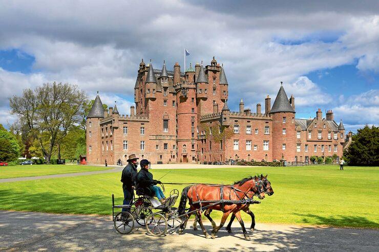 Das Glamis Castle ist eines der schönsten Schlösser im Land.