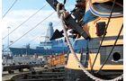 Das historische Hafenviertel der Stadt gestattet Besuchern einen tiefen Einblick in 500 Jahre Marinegeschichte.