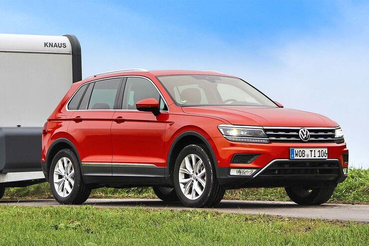 vw tiguan 2 0 tsi 4motion im zugwagen test exzellente. Black Bedroom Furniture Sets. Home Design Ideas