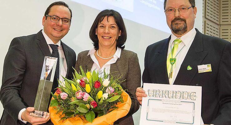 Dethleffs Family Stiftung Deutscher Campingpreis Verleihung