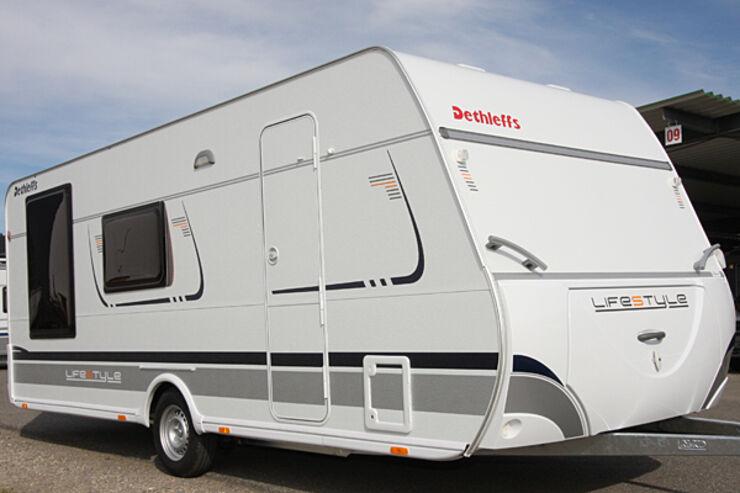 Dethleffs Lifestyle Wohnwagen Caravan Neuheit CARAVANING