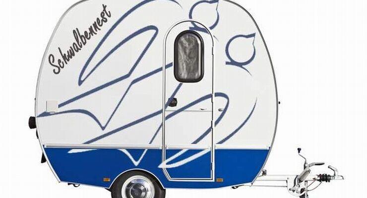 Die drei neuen Designs für das Knaus Schwalbennest stehen fest. Sie feiern ihre Premiere auf dem Caravan Salon