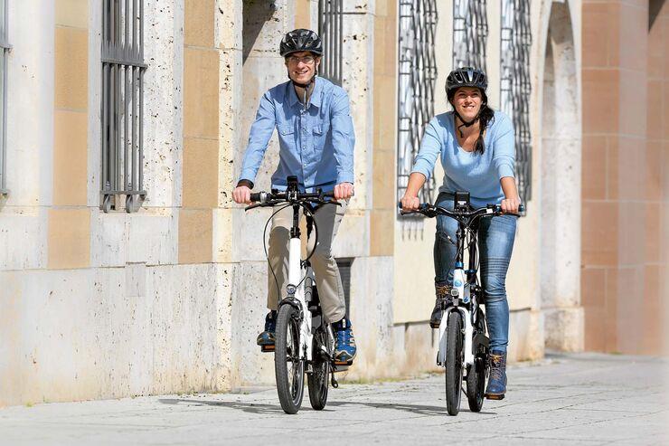 E-Bikes in der Stadt