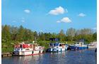 Ems, der wichtigste Fluss des Emslandes.